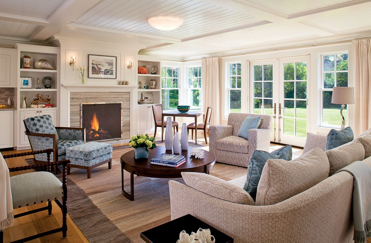 The Magic Touch | Cape cod style house, Living room ...