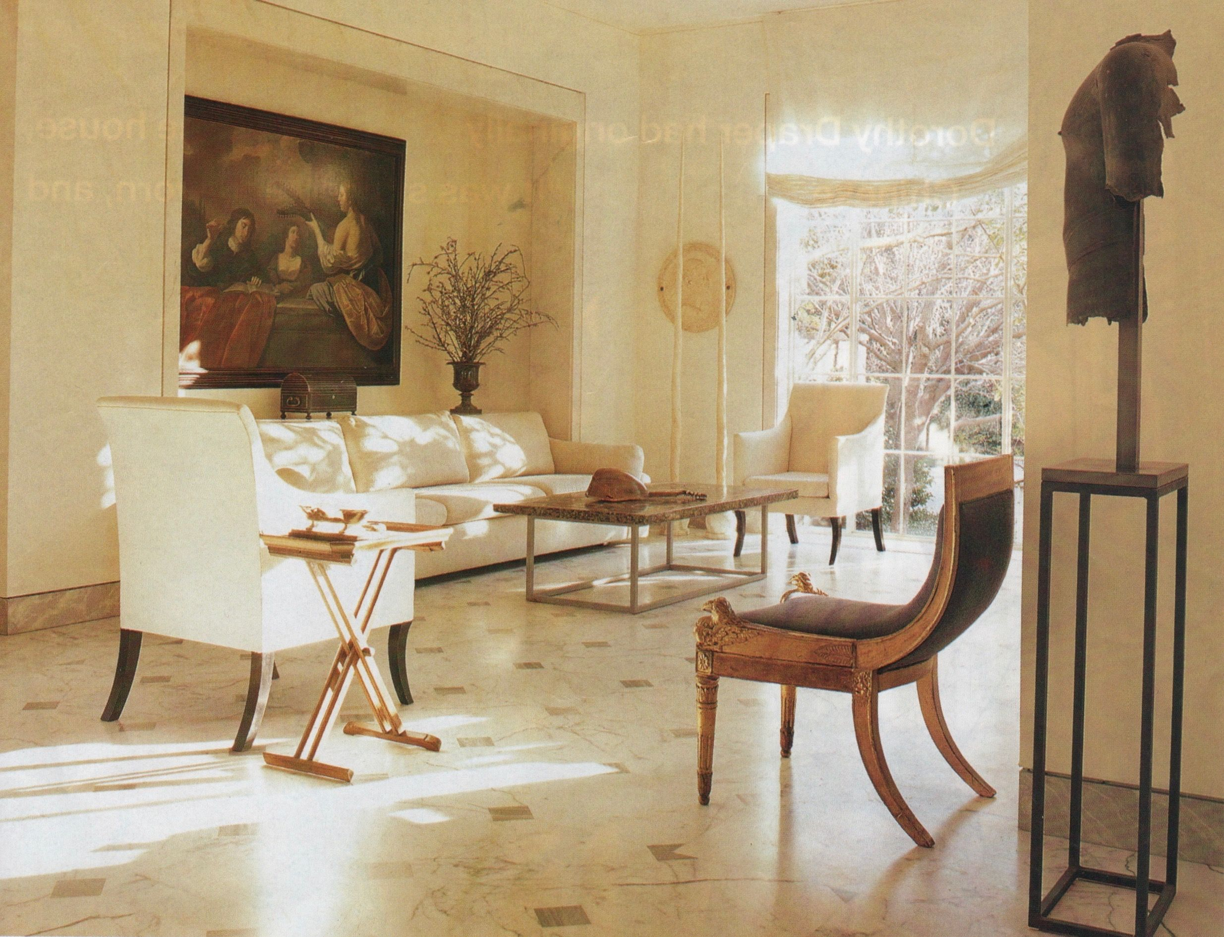 Marvelous Axel Vervoordt Dallas Home Of Betty Gertz Southern Accents Peter Estersohn