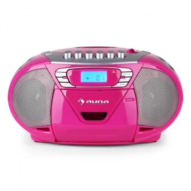 auna boomgirl tragbarer cd radiorecorder küchenradio mit usb