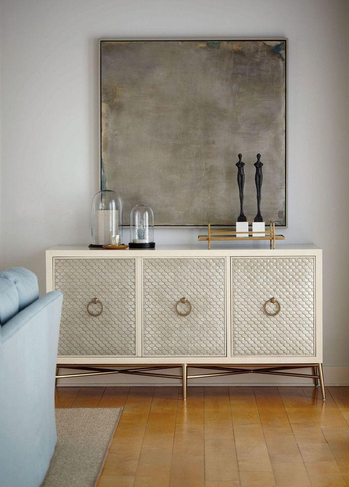 Salon Entertainment Bar Console - Bernhardt Furniture ...