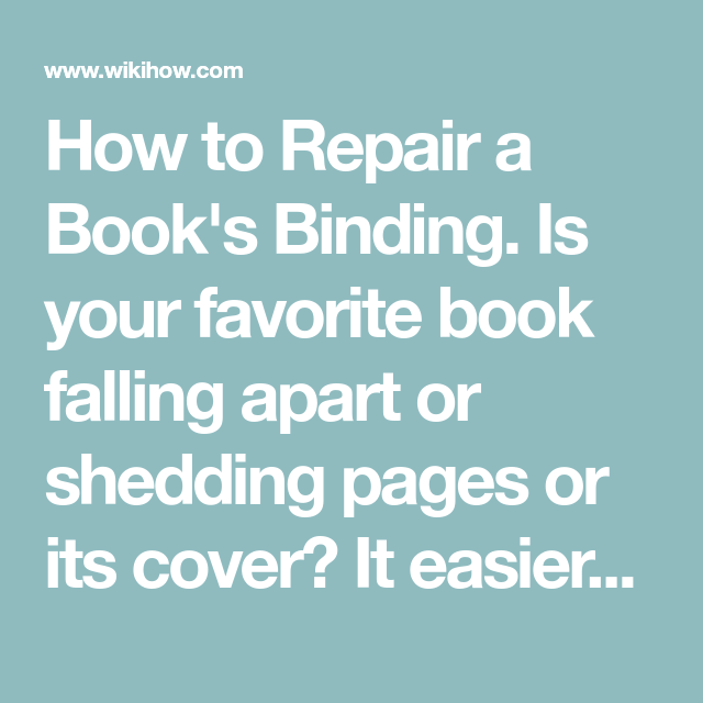 Book Binding, Books, Thinking Of You