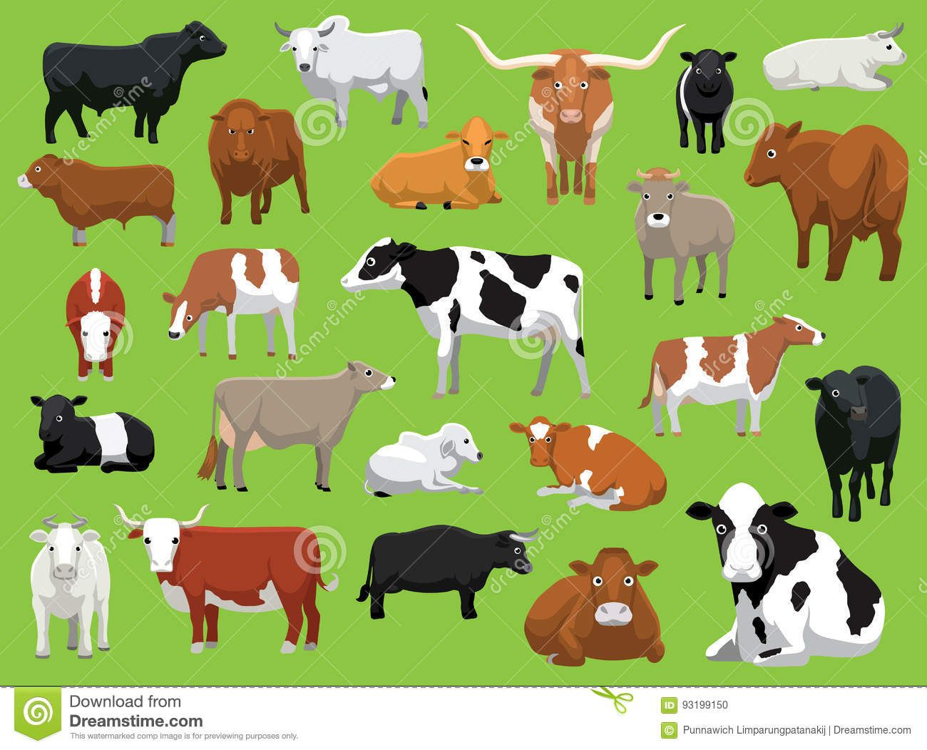 Photo about Animal Cartoon EPS10 File Format. Illustration