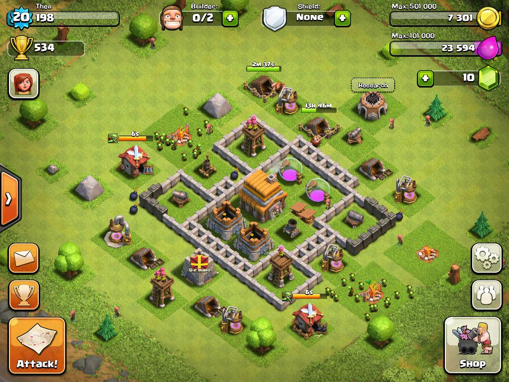 Wall Design For Town Hall 6 : Town hall level clash of clans base