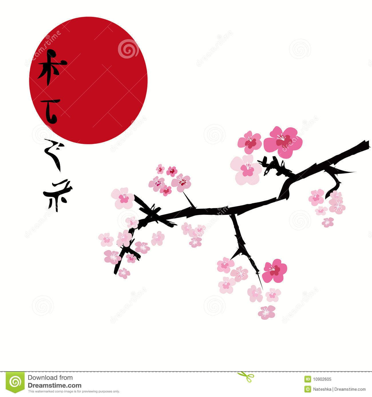 traditional japanese art cherry blossom Google Search
