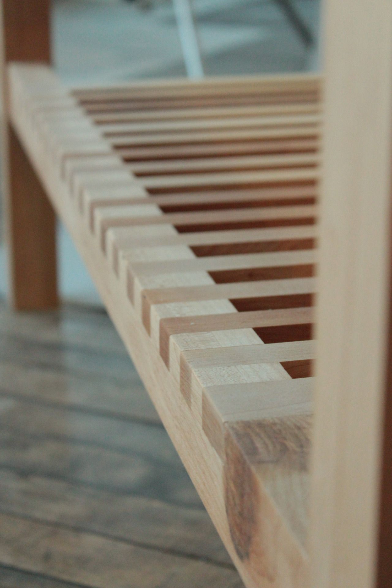 Marquesa Cama Catre Plataforma De Madera Mesa Wooden