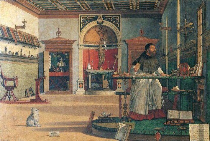 Carpaccio, Sant'Agostino nello studio, 1502