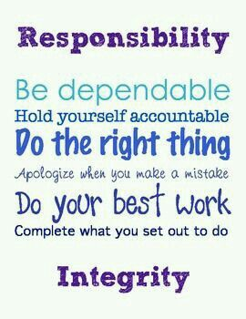 Get Up And Help Out Don T Be Lazy Responsibility Quotes No Response Classroom Quotes
