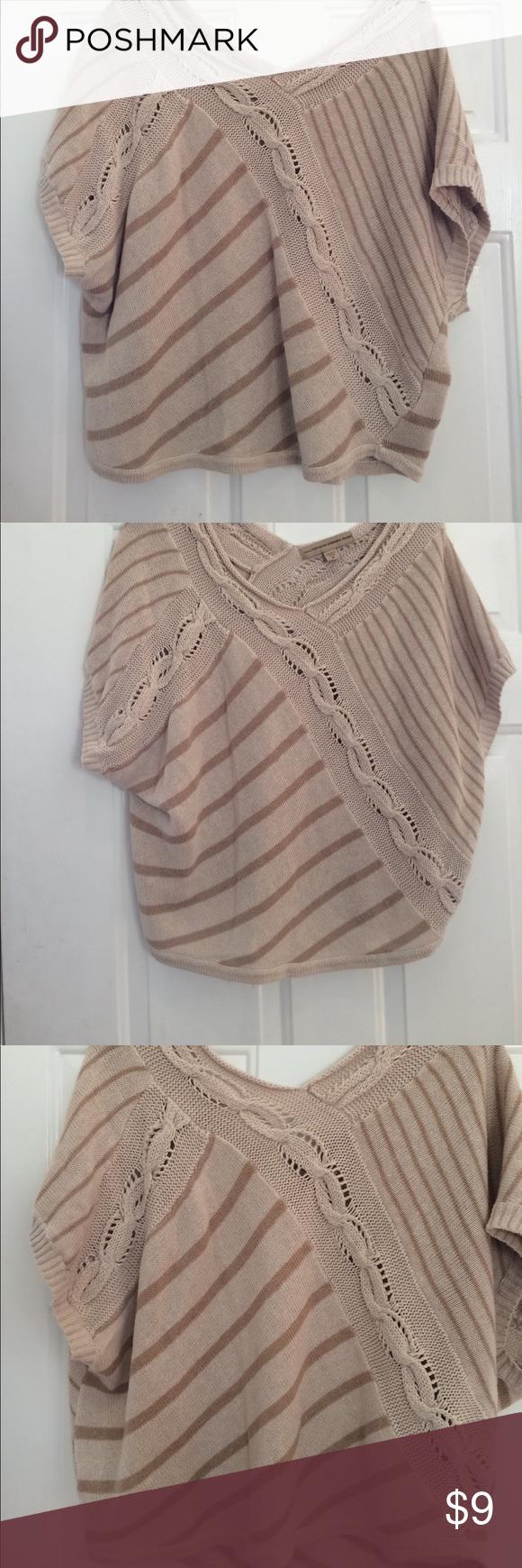 New Ladies Sweater Size Medium Tan New without tag ladies tan ...