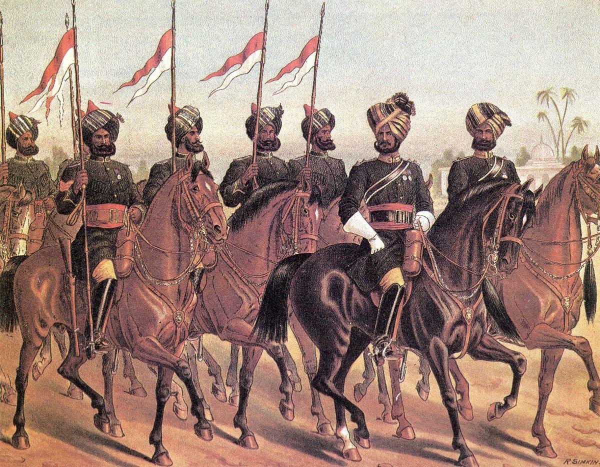 Battle of Maiwand Bombay-light-cavalry--R Simkin | Uniform Artists ...