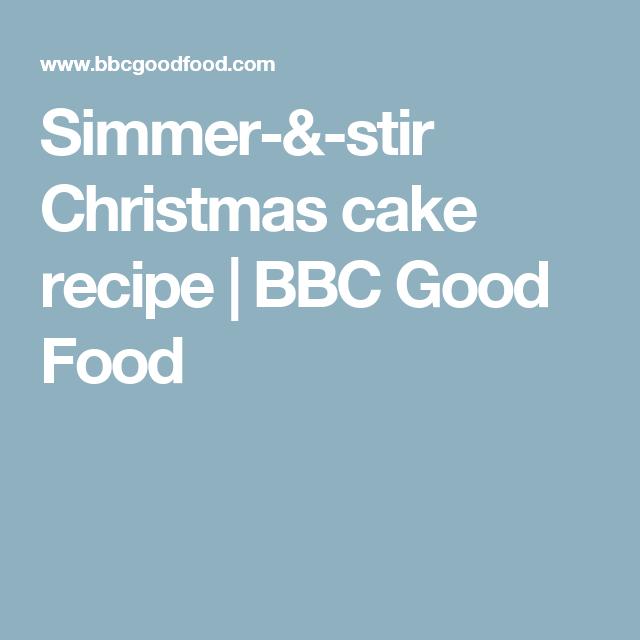 Simmer stir christmas cake recipe bbc good food baking pinterest simmer stir christmas cake recipe bbc good food forumfinder Gallery