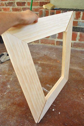 making simple scrap wood picture frames wood pictures. Black Bedroom Furniture Sets. Home Design Ideas