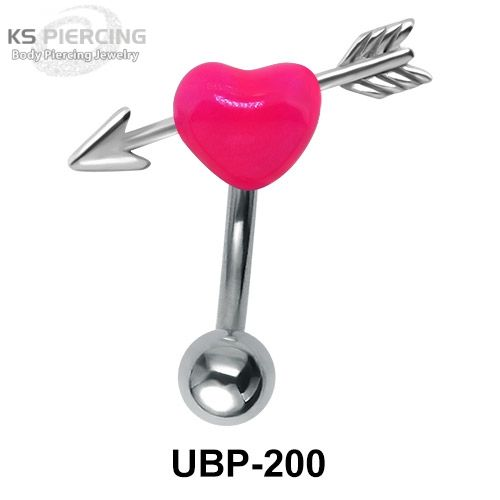 Love Collection Upper Belly Piercing. #bellypiercing #bodyjewelry #piercing