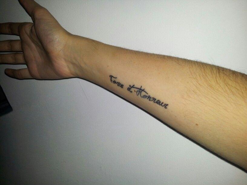 Tatoo en cours de cicatrisation