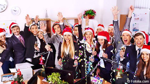 Weihnachtsfeier Spiele Firma