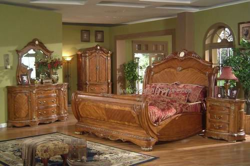 1930s bedroom furniture styles | ... Antique Solid Wood Bedroom Set ...