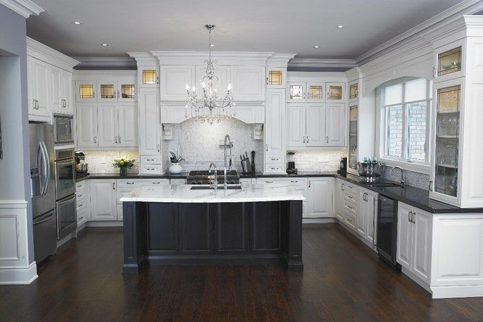 Charming White Kitchen Island With Granite Top   Foter
