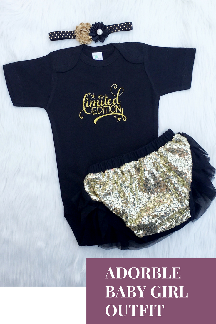 e7e9dbee00a2d Look at this cute baby girl outfit! | Weebie Cuties