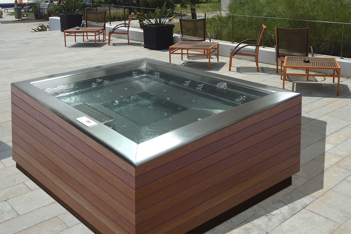 Jacuzzi Exterieur Inox Spa Inox Portable By Inbeca Alfresco Pinterest Spa
