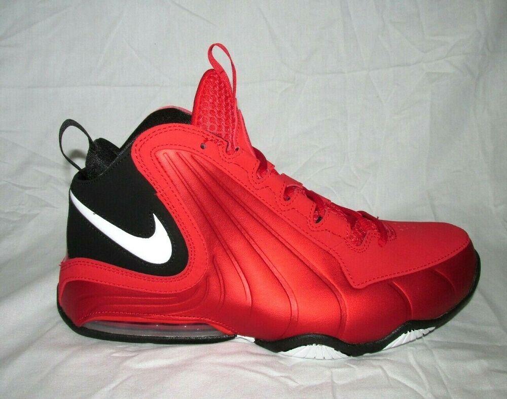Nike Air Max Wavy Mens Basketball Shoes University Red Black Av8061 600 Nike Basketballshoes Nike Air Max Nike Air Mens Basketball