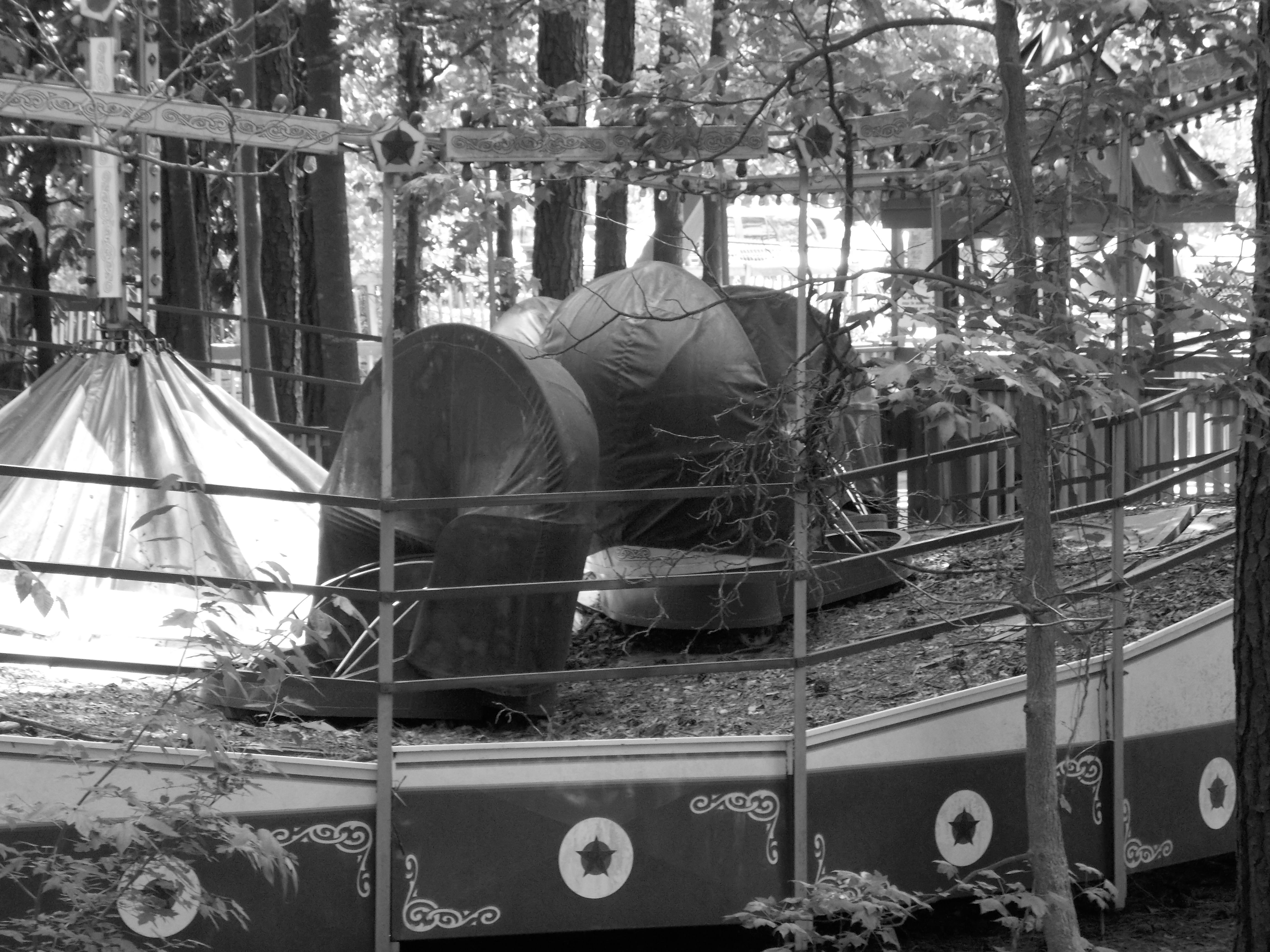 Abandoned Tilt A World At Once Was American Adventures