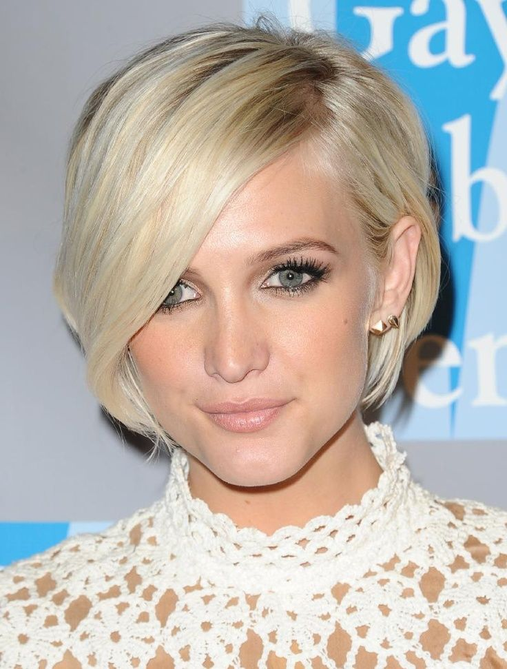 Ashlee Simpson Short Hair Back View Google Search