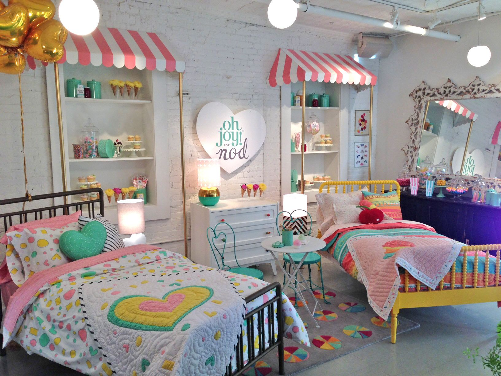 Ice cream shop to introduce Oh Joy! for Nod.