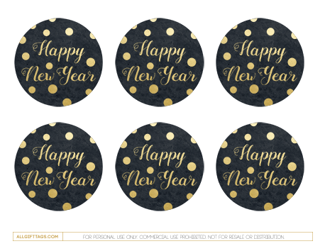 Printable happy new year gift tags free pdf template to printable happy new year gift tags free pdf template to download and print negle Choice Image