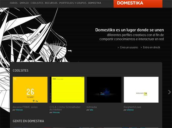Domestika Showcase Design Web Design Inspiration