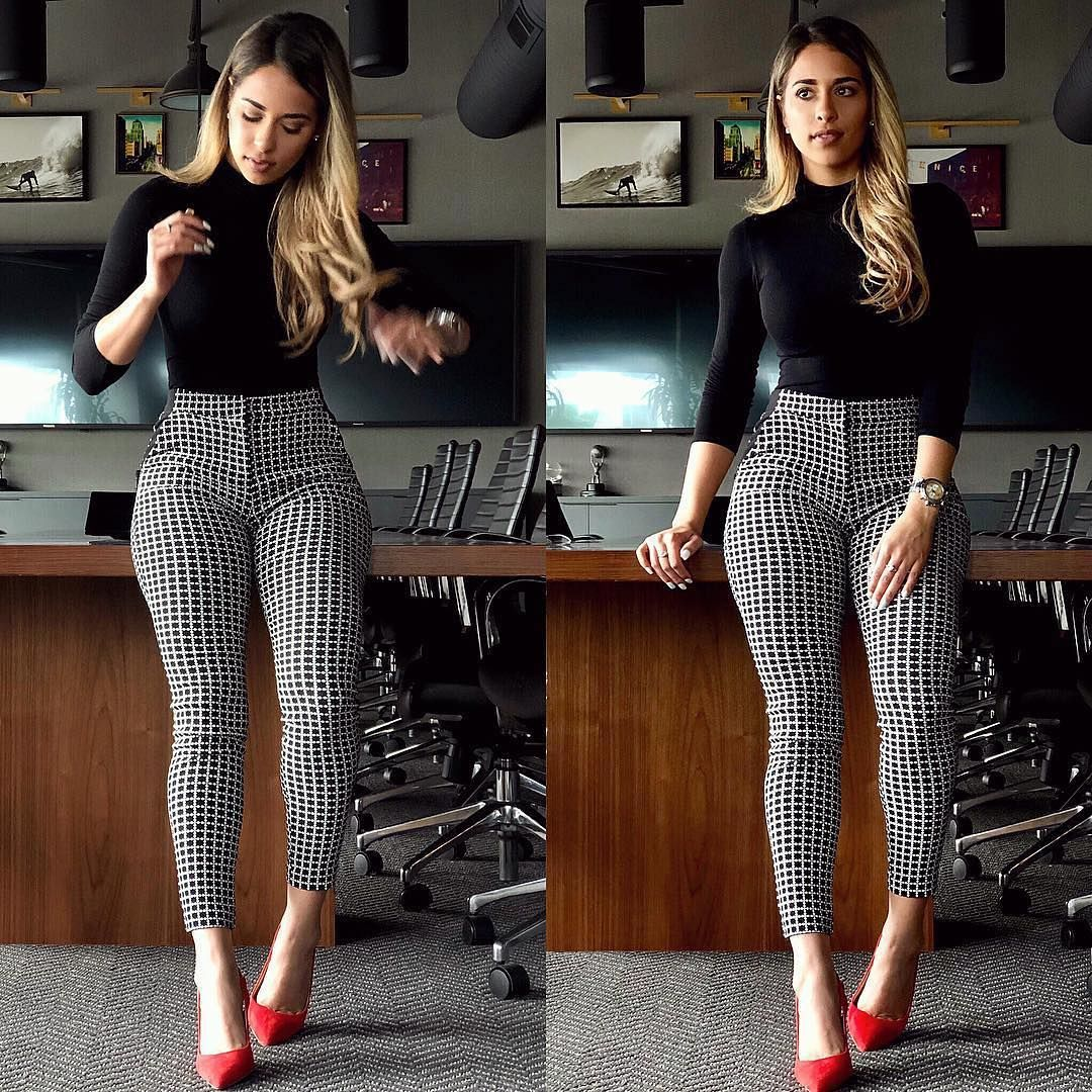 "1f580578277 ... And Makeup Tutorials on Instagram  "" FashionNova keeps the ladies  slaying boss moves in that outfit 😍 Would you wear this  FashionNova outfit  to work """