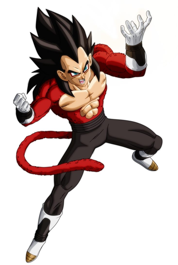 Vegeta Xeno Ssj4 By Andrewdb13 On Deviantart Anime Dragon Ba