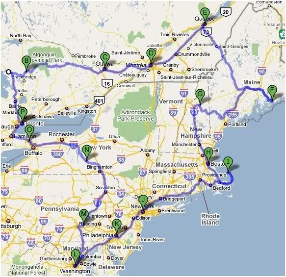 Rondreis Noord Oost Amerika En Canada Noord Oosten Northeast
