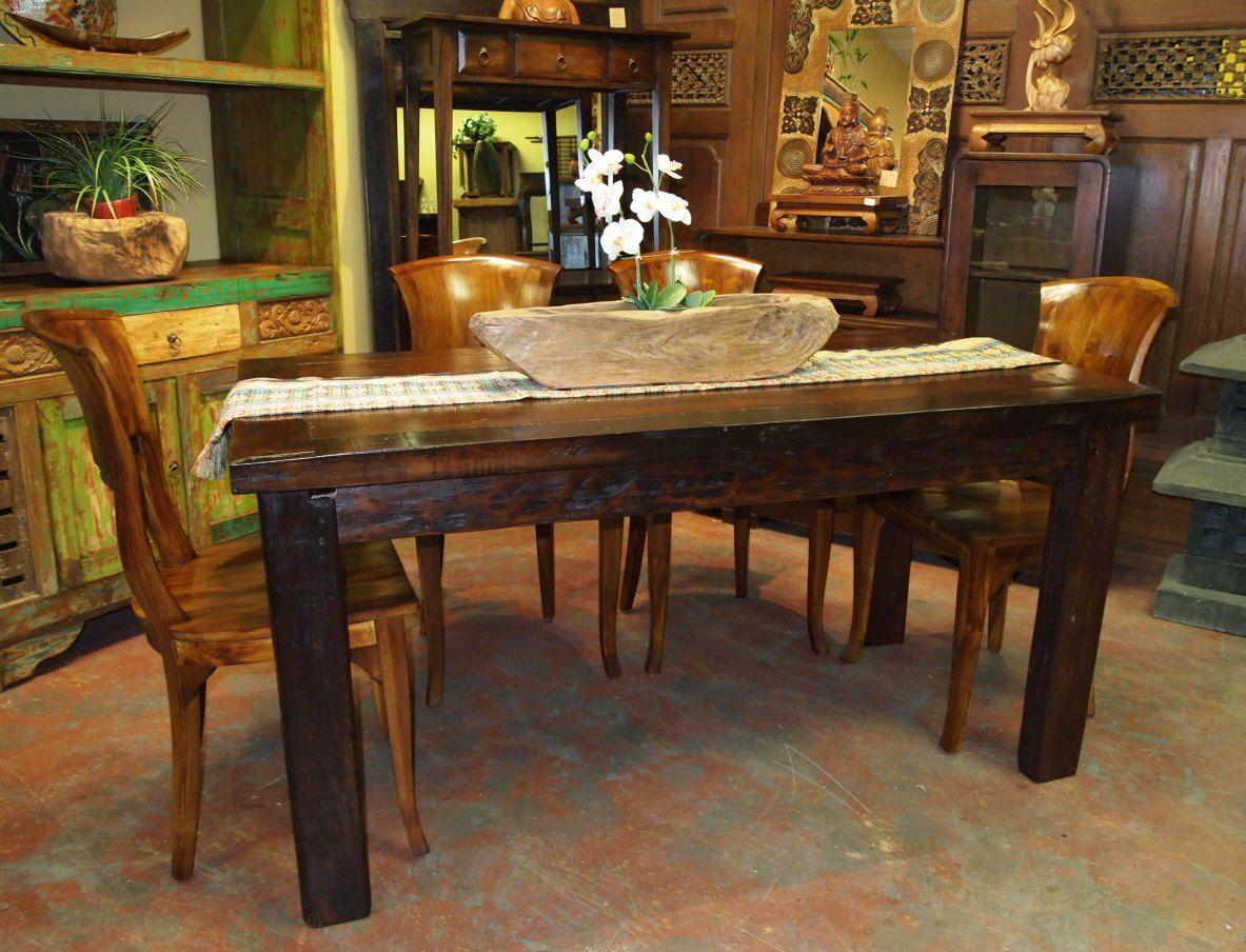 Rustikale vintage badezimmer dekor sterben vorteile von vintage esszimmer set esstisch stühle