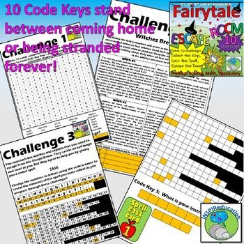 ESCAPE ROOM: Fairytales, Problem Solving, Resources and ...