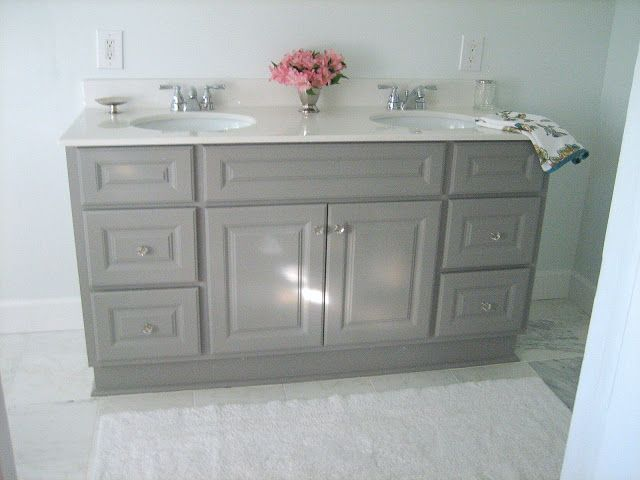 Cement Gray By Martha Stewart Vanity Paint Color Love This For - Martha stewart bathroom colors