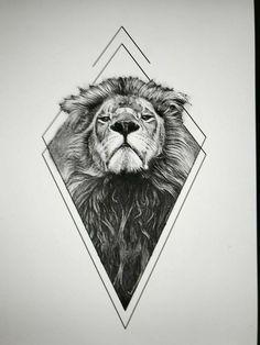 Photo of Löwentattoos haben unterschiedliche Bedeutungen. Löwen sind stolz und mutig …