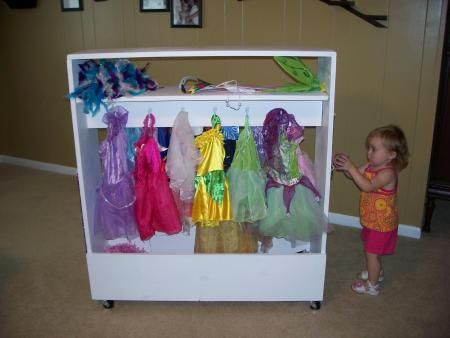 Superieur Dress Up Storage  Weu0027ll Put The Ikea Bar On Either Side AND