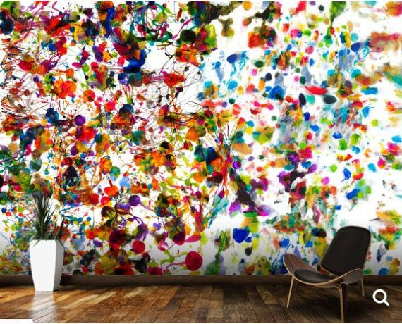 3d Abstract Mural Abstract Wall Mural Abstract By 4kdesignwall Mural Mural Painting