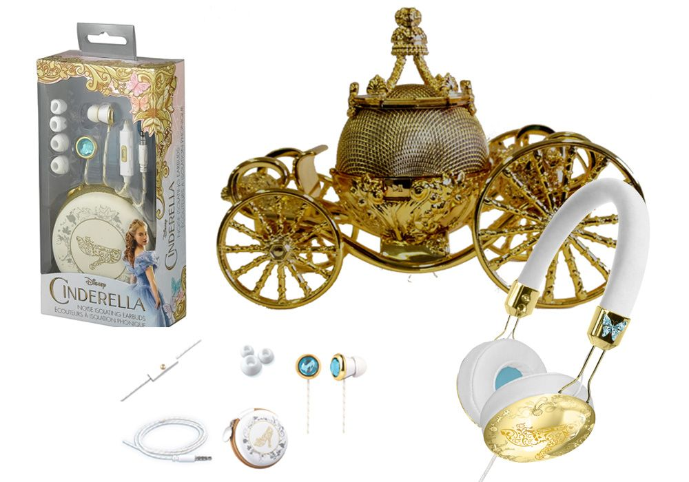 Adorable New Cinderella Music Merch Fit for a Princess ...
