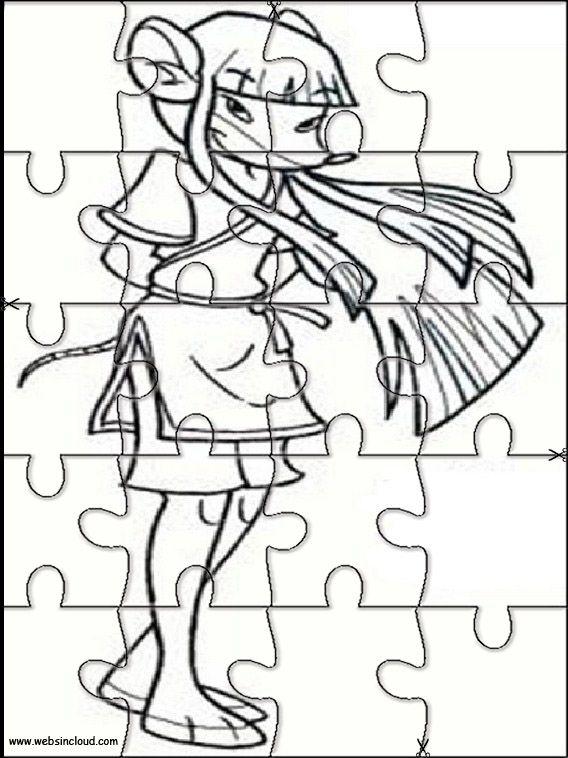 Puzzles Rompecabezas para imprimir para niños Geronimo