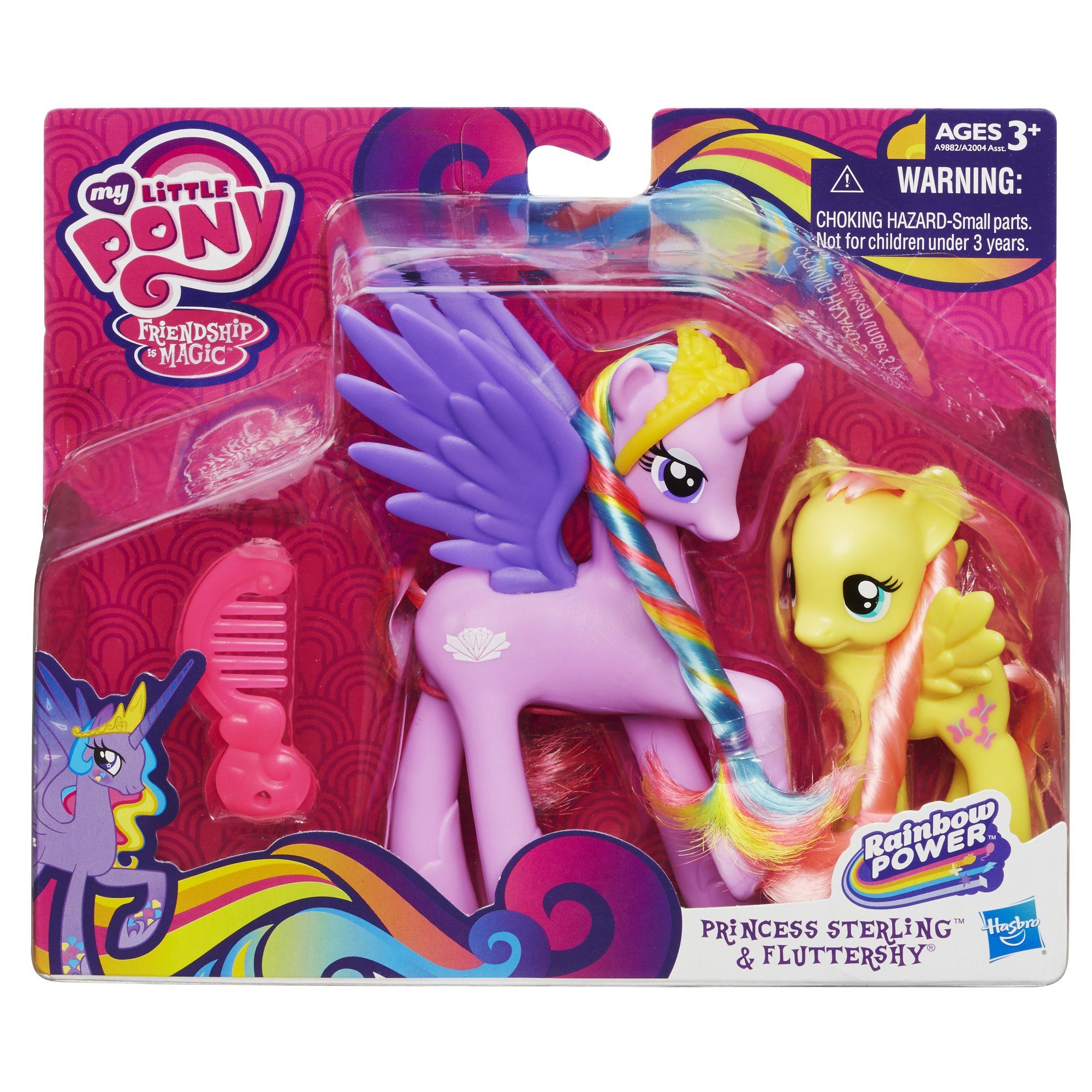 amazon: my little pony princess sterling and fluttershy