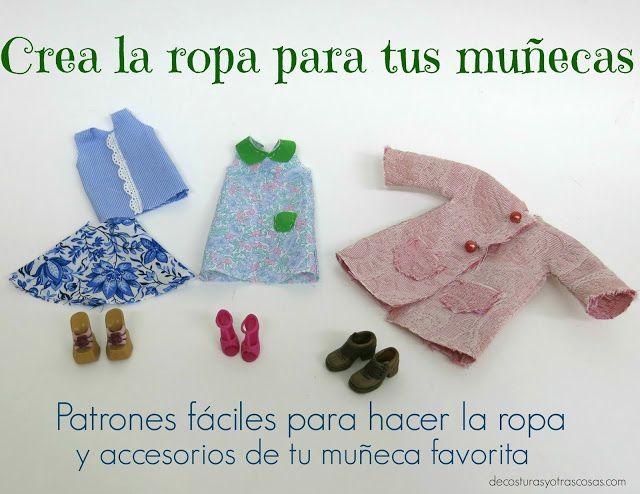 Yo hago la ropa de mis muñecas | libros | Pinterest | Costura ...