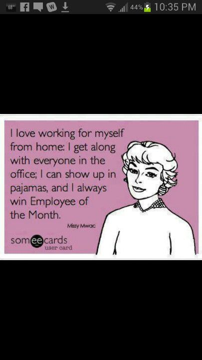 Self Employed Ecards Funny E Cards Funny Quotes