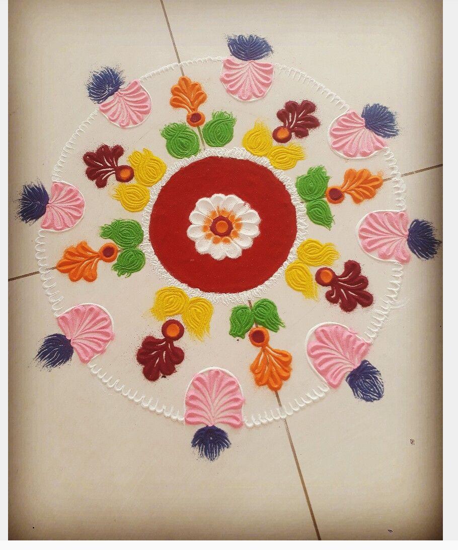 Rangoli  design  #rangolidesignsdiwali