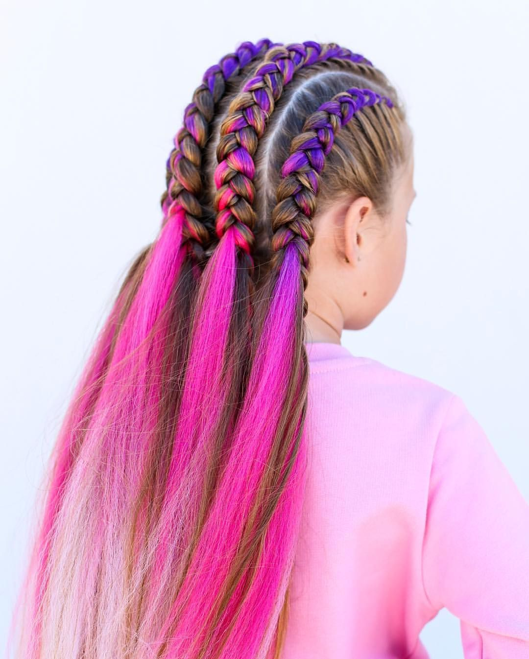 We Found An Amazing Braiding Hair Company Magicmaneshair They Sell Bright Braiding Hair An Braid In Hair Extensions Braided Hairstyles Braids With Extensions