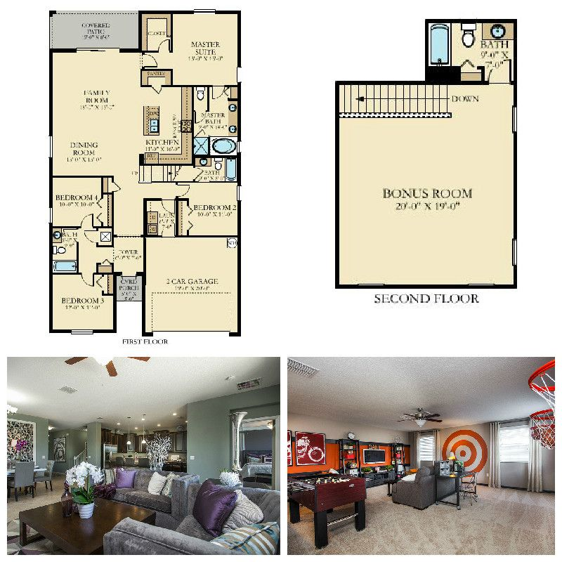 family house plans with bonus room. Our Simmitano has an open kitchen family room and large bonus  upstairs Small Floor PlansKitchen