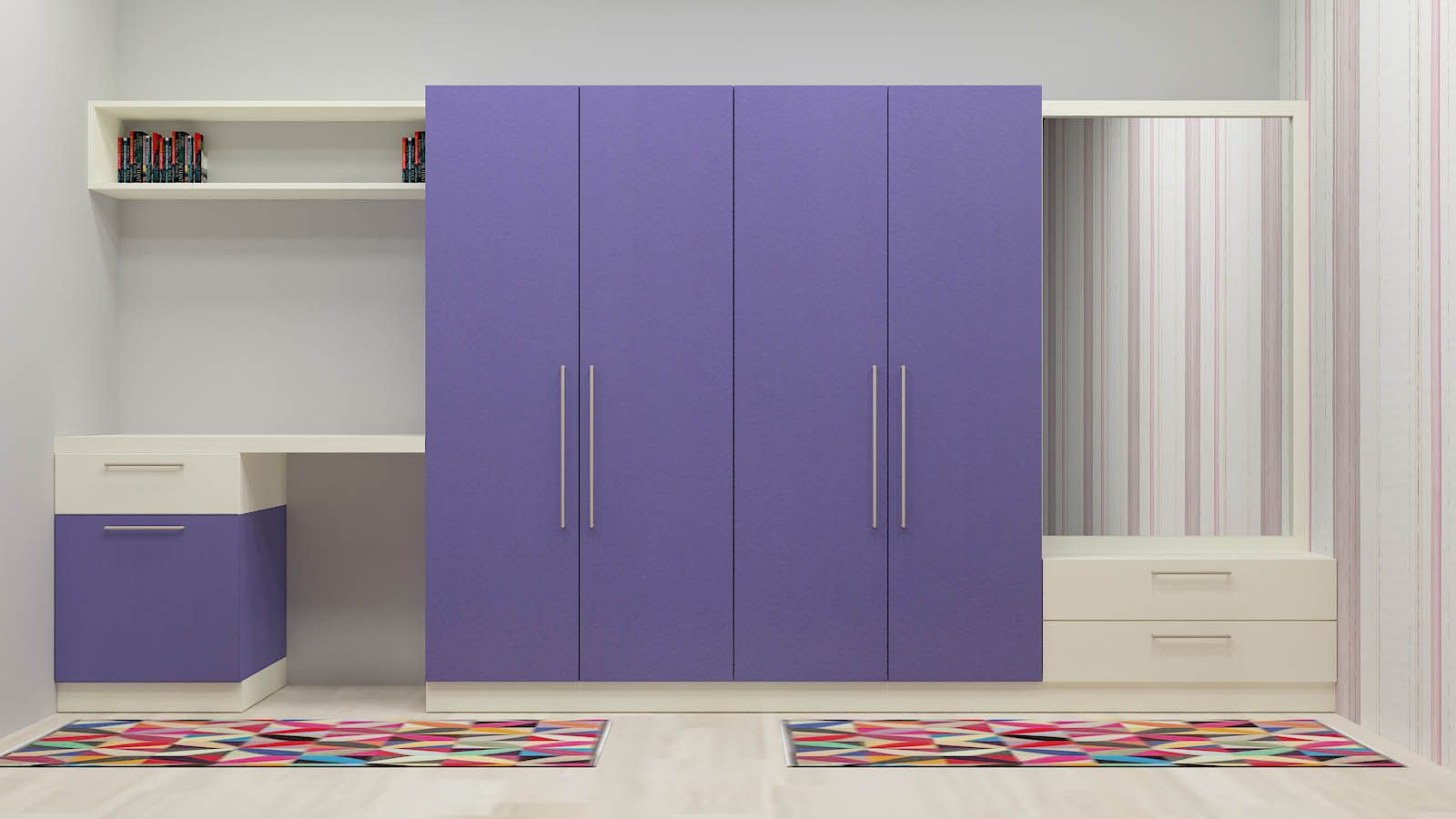 Buy Modern Wooden Wardrobe Online In India Low Prices
