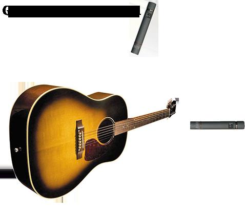 Knowledge Base 10 Microphone Placement Techniques For Acoustic Guitar Acoustic Guitar Microphone Acoustic
