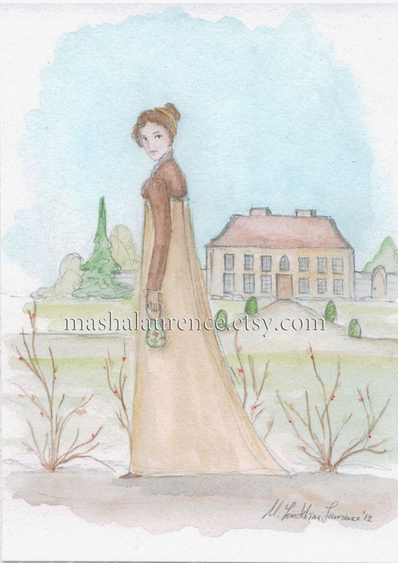 Setting Off To Netherfield 5x7 Art Print Pride And Prejudice Pride And Prejudice Art Prints Art