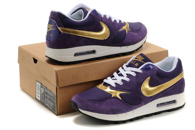 Nike Purple and Gold. THESE ARE THE MOST BEAUTIFUL SHOES I HAVE EVER SEEN.