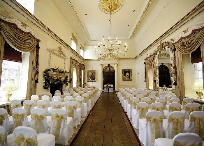 Weddings 18th Century Stately Home Wortley Hall The Salon